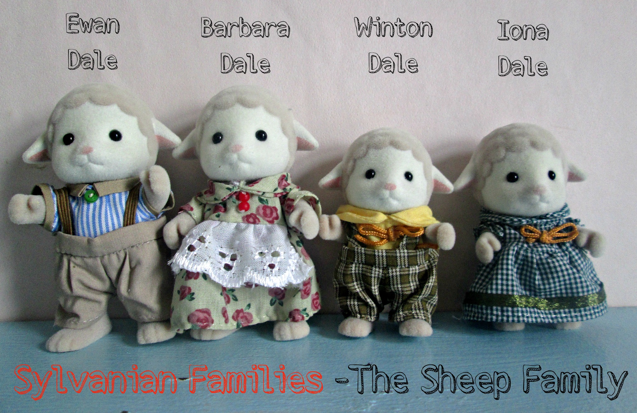 Sylvanian Families The Sheep Family