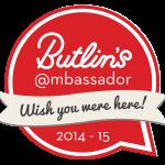 Butlins Ambassadors badge