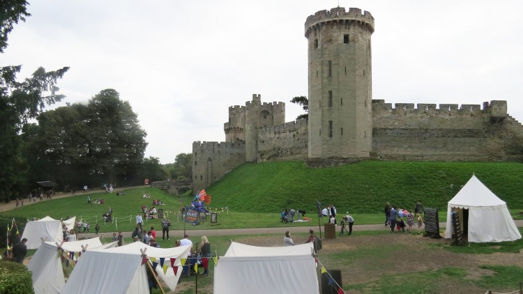 warwick castle fun